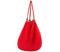 Island Vibe Hobo Bag fire red