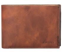 Handcrafted Slim Wallet brown