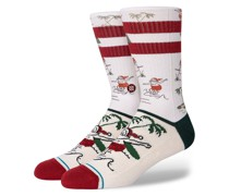 Santas Day Off Socks