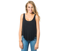 Love And Surf Plain Tank Top schwarz