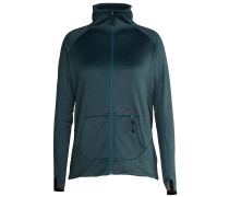 Retreat Fleecejacke blau