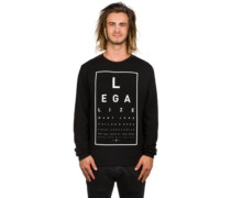 GL Legaleyez Crewneck Sweater white