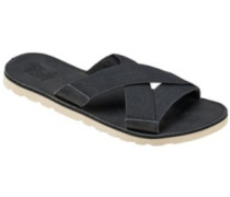Voyage Slide Sandals Women black