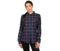 Grace Shirt LS mood indigo bonfire