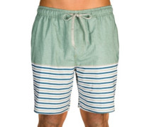 Breezy Stripe Boardshorts wreath