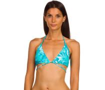 Graffiti Beach Tri Bikini Top
