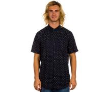 Dot T-Shirt blau