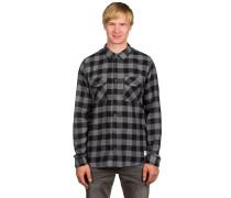 All Day Flannel Hemd schwarz