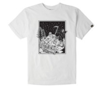 Jesus Skates T-Shirt white
