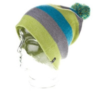 Story Stripe Beanie green