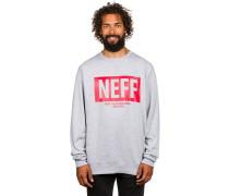 New World Crew Sweater grau