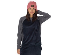 Rolston Fleece Crew Pullover mood indigo heather