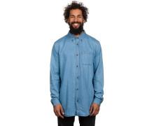 Darkhan Hemd blau
