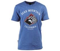Bear Mtn T-Shirt blau