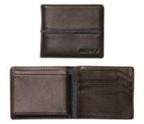 Coastal Satellite Bi-Fold Id Coin Wallet brown