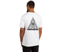 Sumra Triple Triangle T-Shirt white