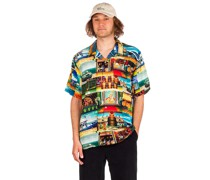 X Streetfighter II Stages Resort Shirt