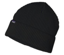 Fishermans Rolled Beanie black