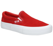 Pro Suede Slip-Ons white