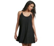 Cross Check Dress black