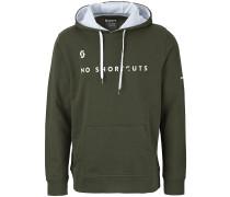 50 No Shortcuts Hoodie grün