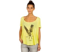 Freedom And Peace Shirt gelb