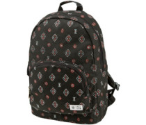 Schoolyard Cnvs Backpack black combo