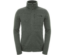Gordon Lyons Full Zip Fleecejacke grün