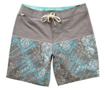 Patch Boardshorts brown