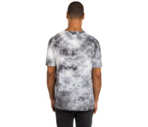 Triple Triangle Crystal Wash T-Shirt cool grey white