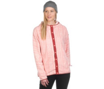 Hearth Snap Up Fleece Jacket rose quartz bambara