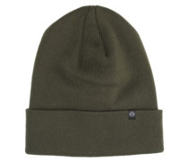 Essential Fold Long Beanie olive