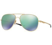 Elmont Satin Gold Sonnenbrille braun