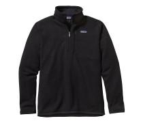 Better Sweater 1/4 Zip Fleece Pullover schwarz