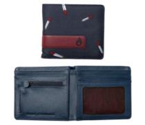 Showdown Bi-Fold Zip Wallet midnight navy multi