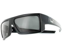 G7 Black Shiny Sonnenbrille schwarz
