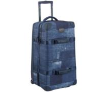 Wheelie Double Deck Travelbag indohobo print