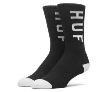 Perf Crew Socks black