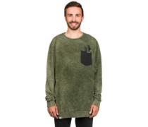 BT Nut Sweater olive stonewashed