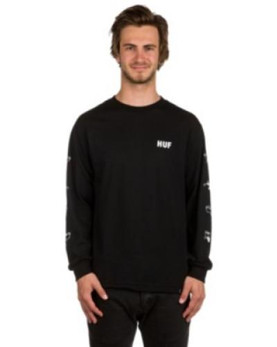 X Pink Panther Heads T-Shirt LS black
