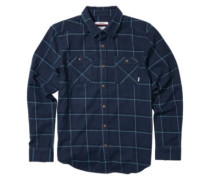 Magee Shirt LS navy plaid