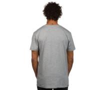 Zoned T-Shirt light grey heather