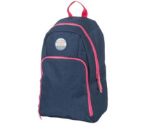 Solid Illusion Backpack dark blue
