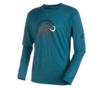 Logo T-Shirt LS orion melange
