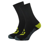 Loby Crew Socks 5-7 black
