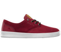 The Romero Laced Skateschuhe rot