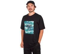 Classic Print Box T-Shirt blue coral