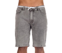 Slim Shot2 Denim Shorts grey bleach wash