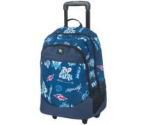 H Logo Wheely Proschol Backpack blue