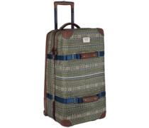 Wheelie Double Deck Travelbag tanimbar print